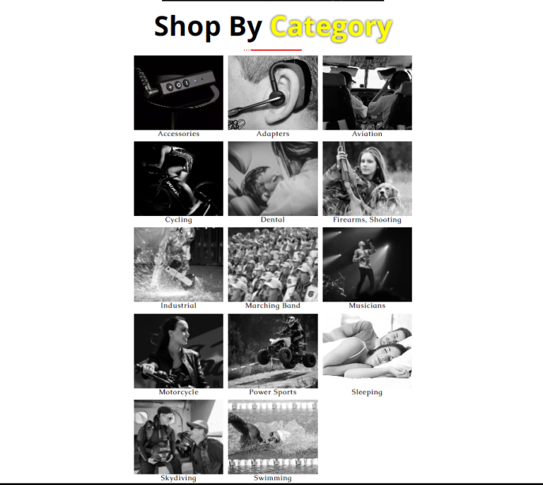 Big Ear Shop by Category